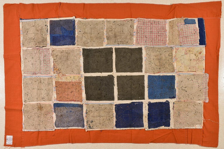 thumb5 Patchwork di antichi tessuti ricamati Turkomanni