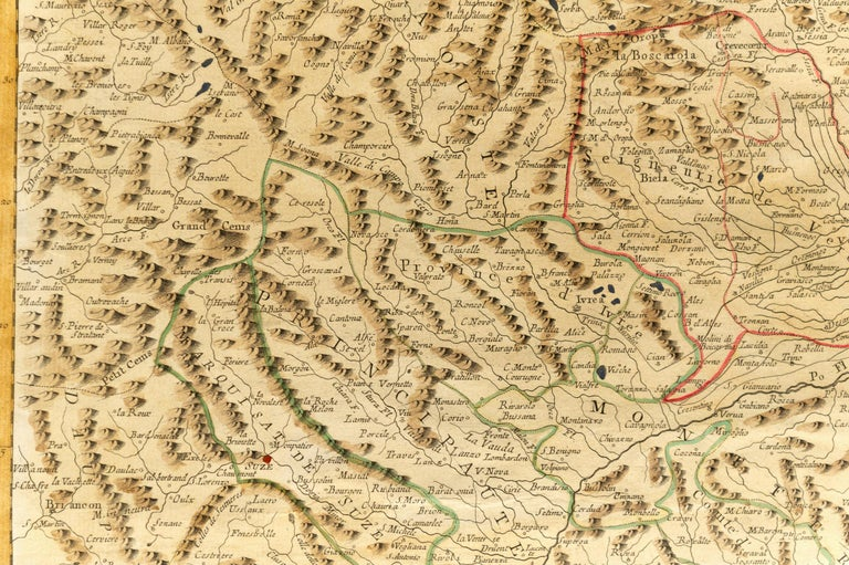 thumb3 Carta geografica di Monaco del 1780 - rif. ST/609