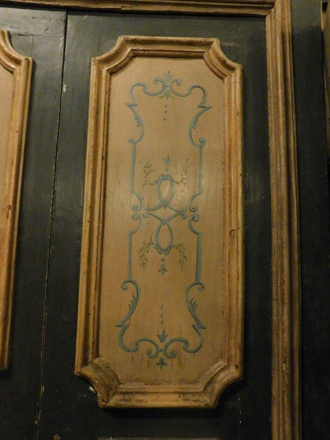 thumb3|ptl501 - porta laccata Napoletana, cm l 132 x h 226