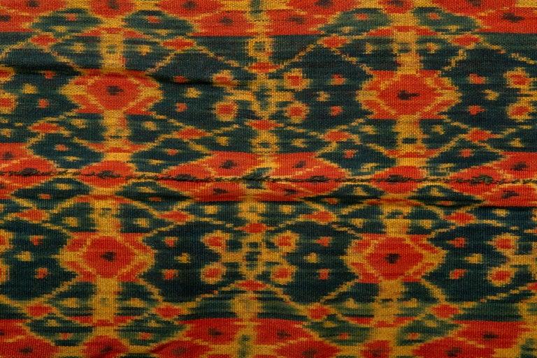 thumb3|Pannello tessile IKAT Indonesiano - B/1043