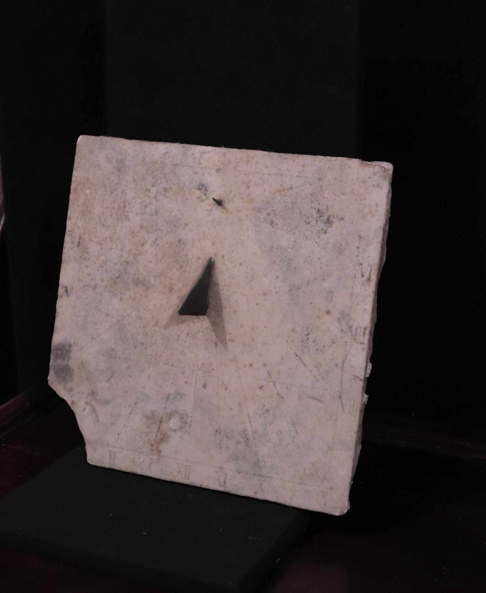 thumb3|Meridiana in marmo, Toscana, Sec. XVII