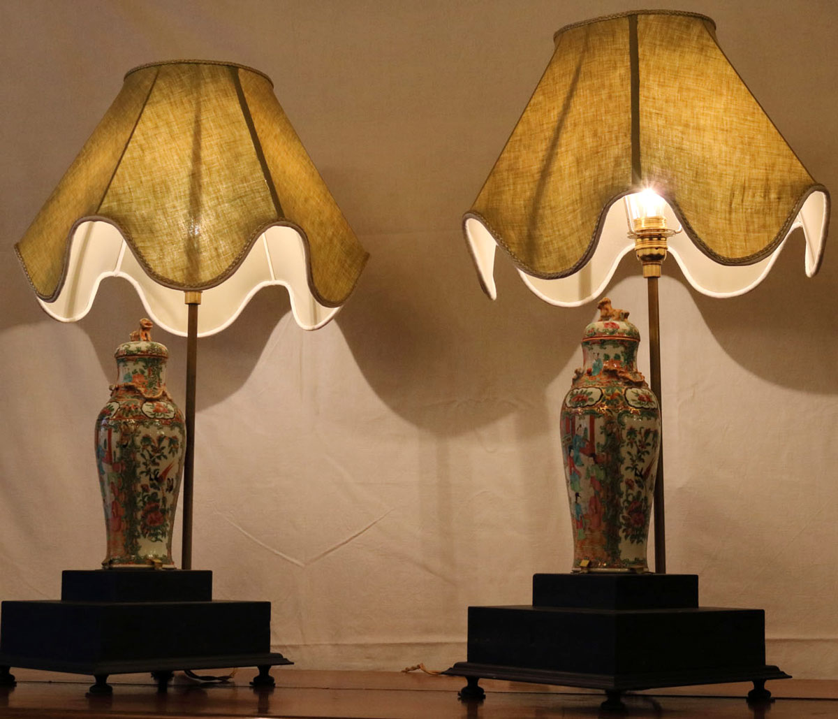 Lampadari Cinesi On Line table lamps with chinese vases | antiques on anticoantico
