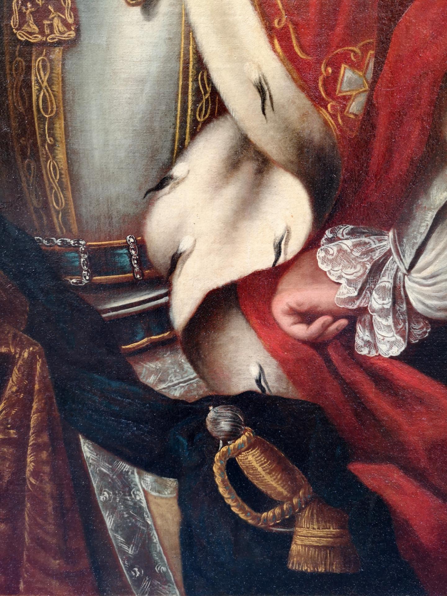 thumb3|Dipinto olio su tela , raffigurante Carlo Emanuele III di Savoia: epoca: metà 700