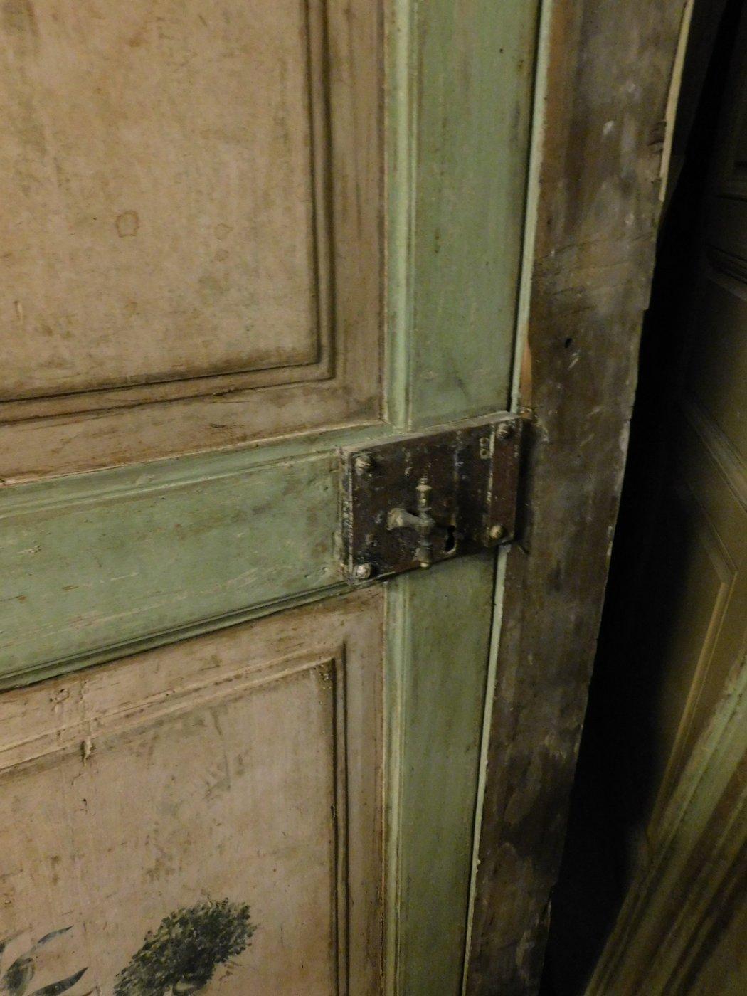 thumb6|ptl367  coppia di porte laccate settecentesche