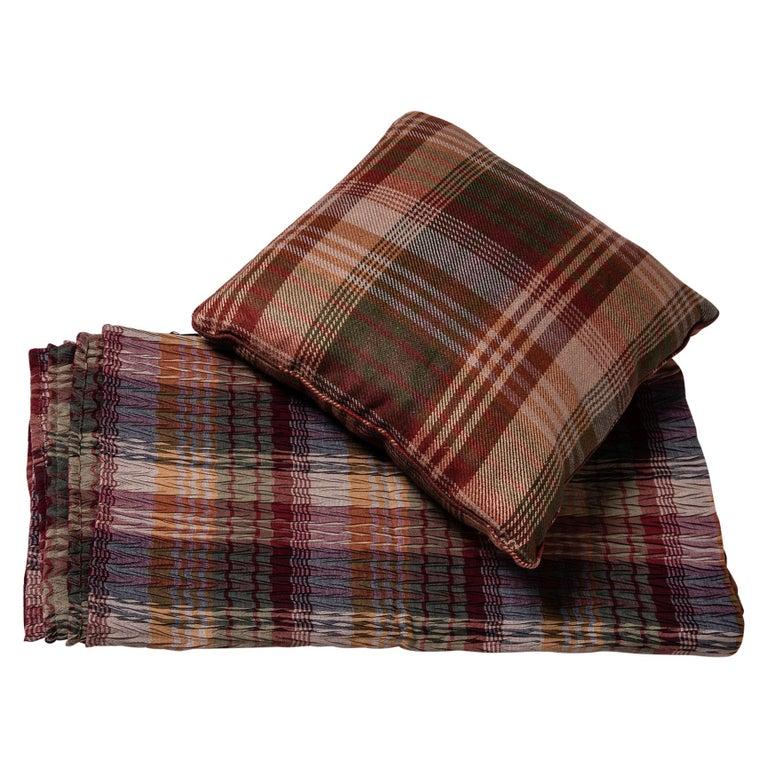 Tessuto copri-divano e cuscino inglesi- B/1742-1743