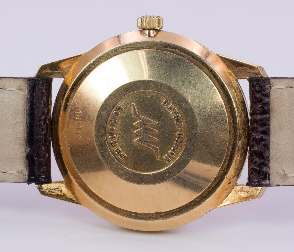 thumb4|Orologio da polso Longines Ultra-Chron in oro 18k - automatico-anni '60