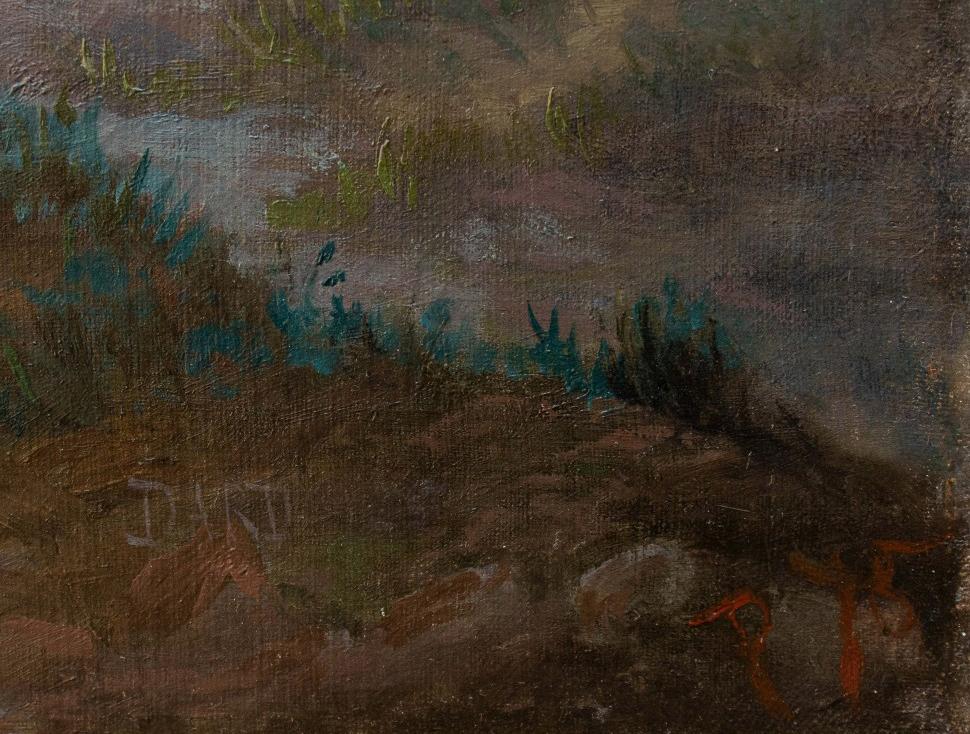 thumb10 Paesaggio al tramonto, XIX secolo