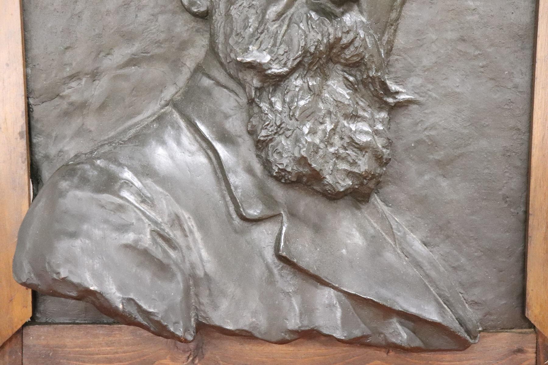 thumb3 Scultura in bronzo ritratto di gentiluomo inizi Sec. XX PREZZO TRATTABILE