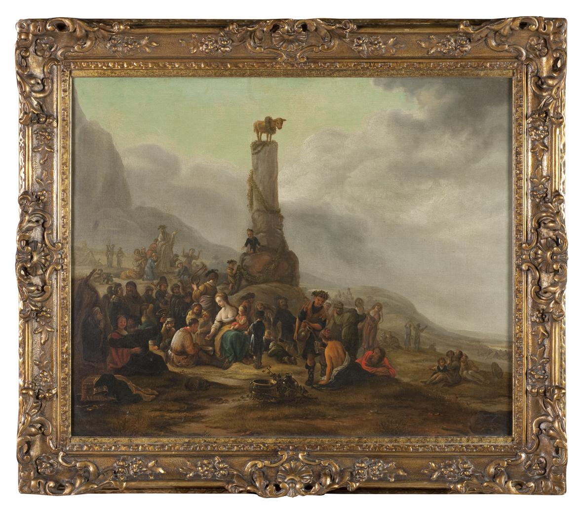 thumb2|Mosè ed il Vitello d'Oro Theodor Helmbreker '600