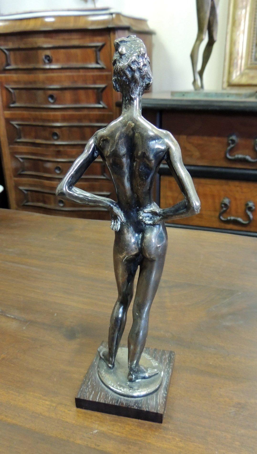 thumb3|statua in argento 800  di Messina  h cm 25