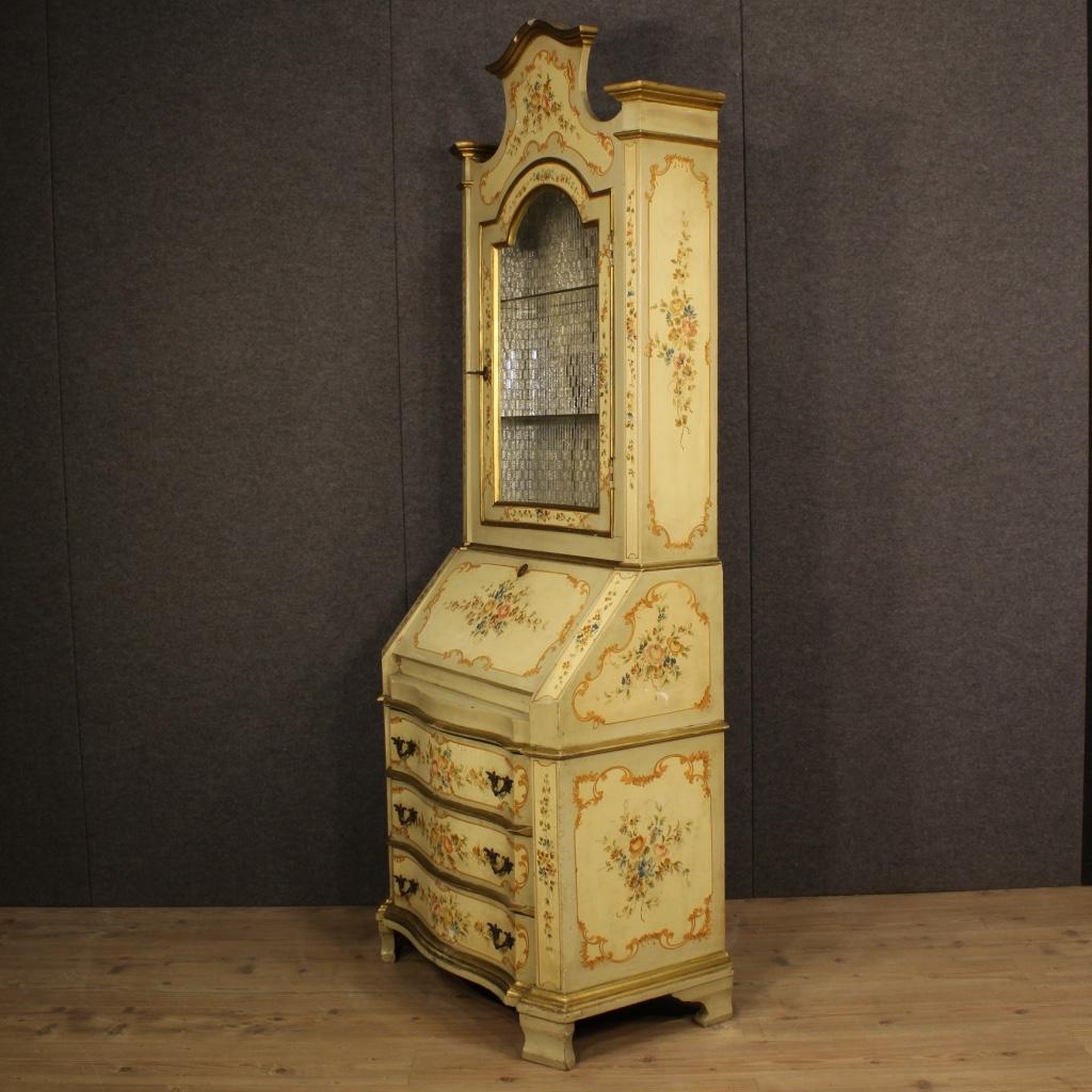 thumb7|Trumeau veneziano laccato, dorato e dipinto