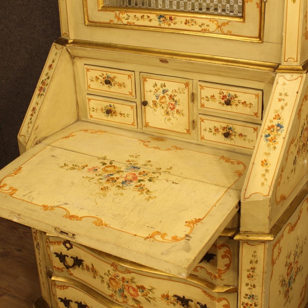 thumb4|Trumeau veneziano laccato, dorato e dipinto