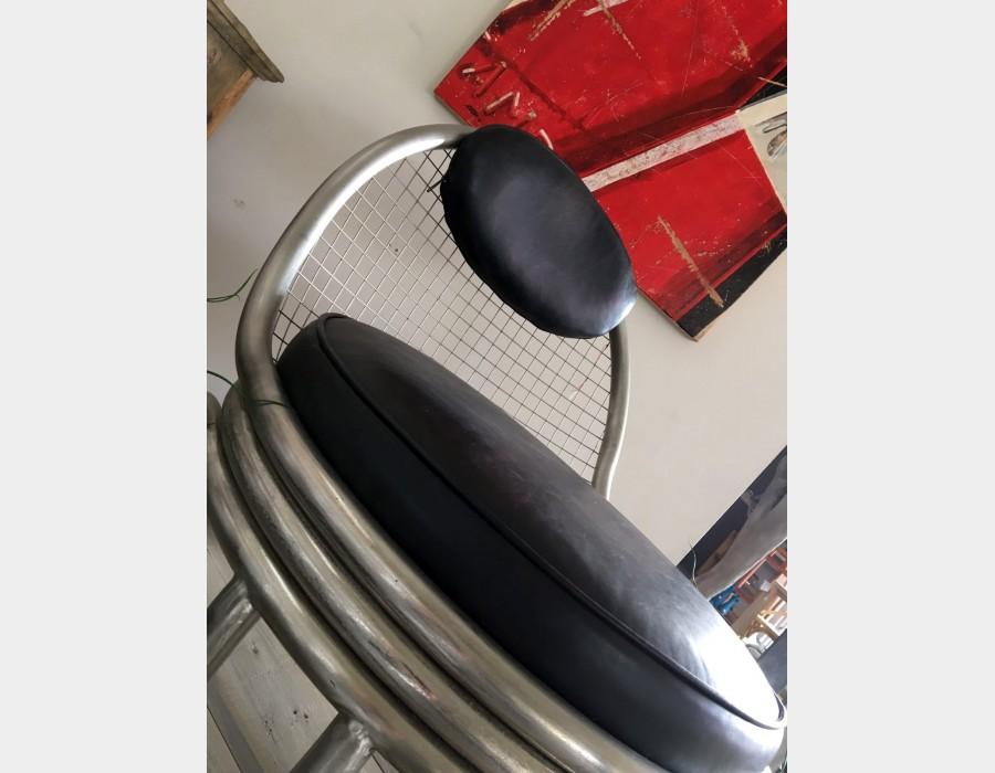thumb4|Poltrona stile industriale Art 1652A