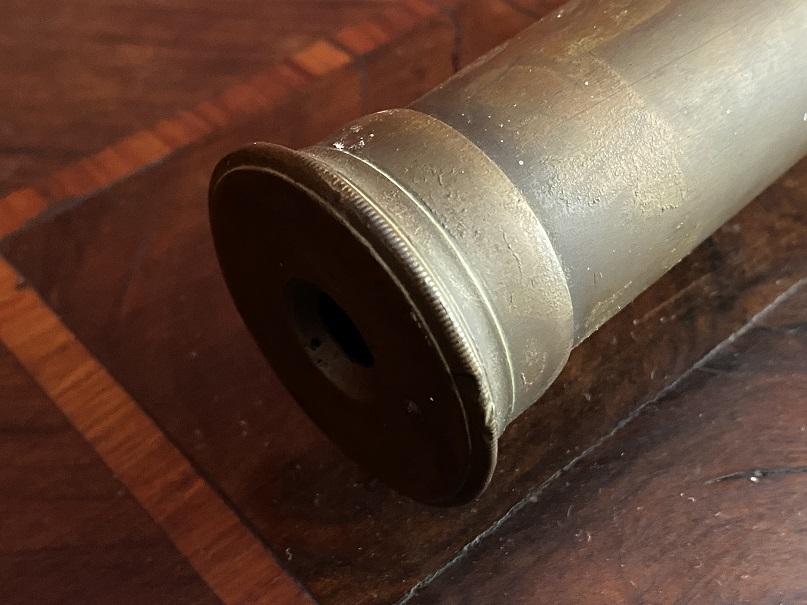 thumb6 cannocchiale in ottone della Marina militare Inglese