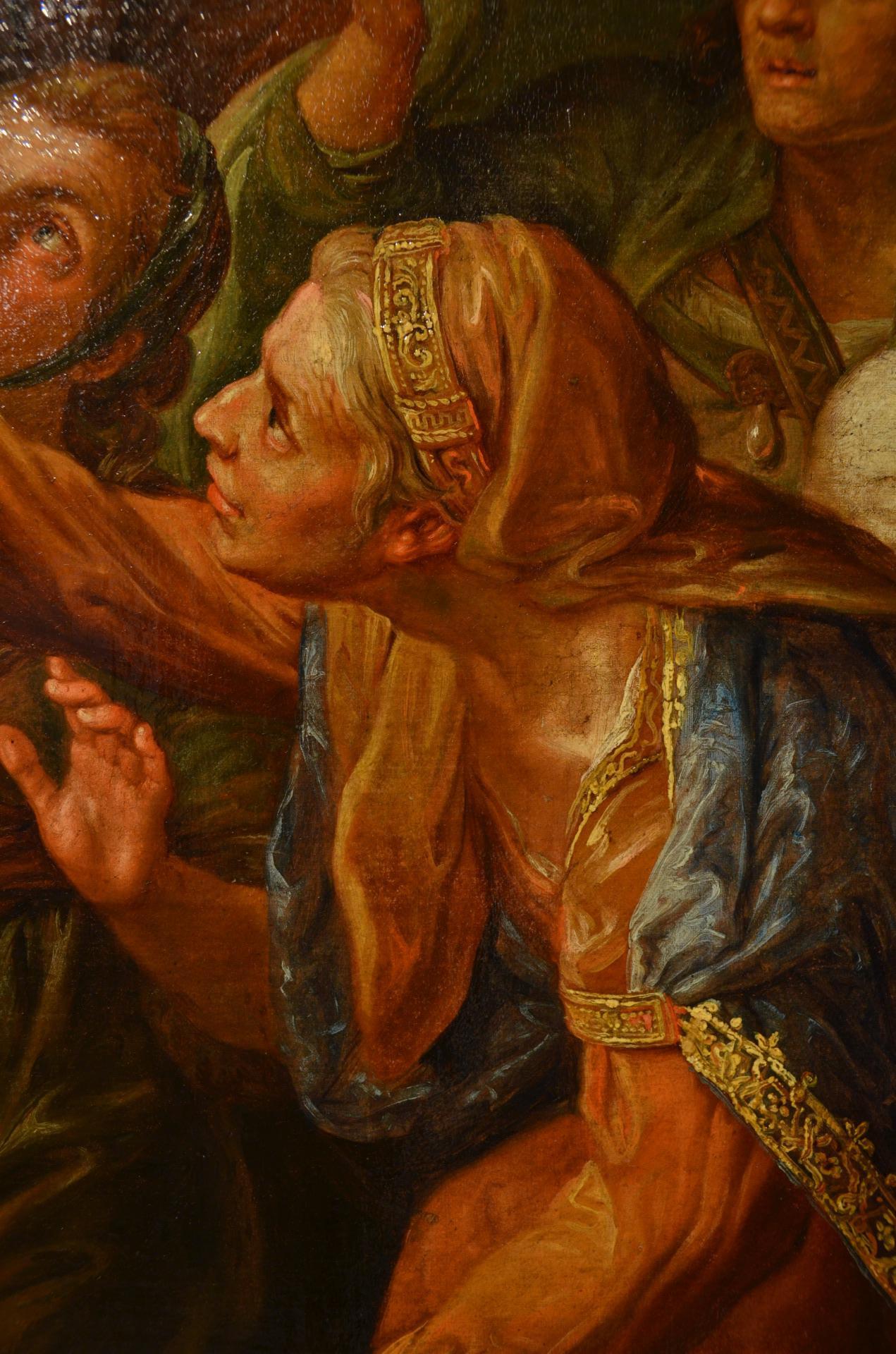 thumb10|Alessandro Magno visita la famiglia di Dario, Pompeo Girolamo Batoni (Lucca 1708 – Roma 1787) e bottega (VENDUTO)