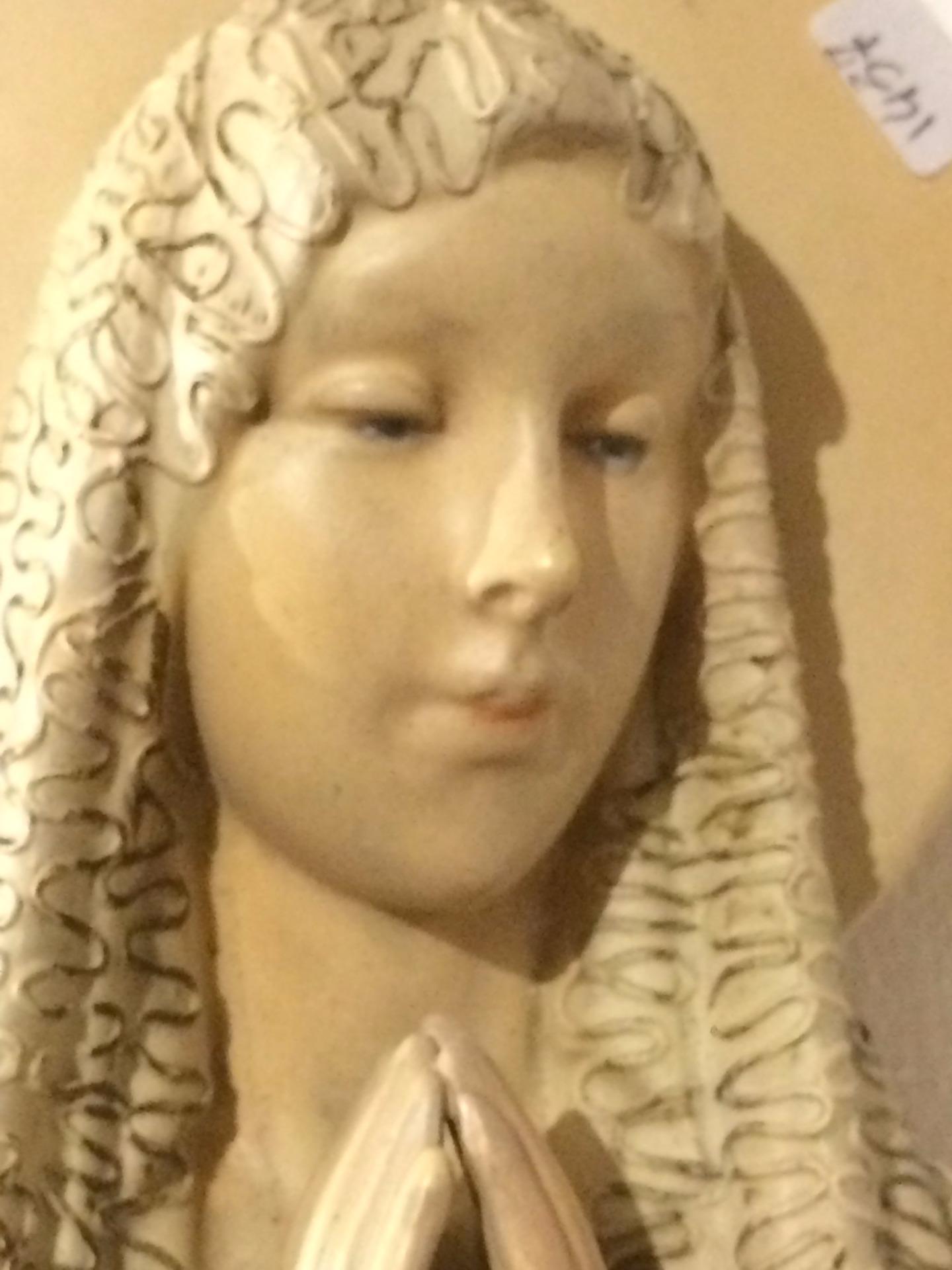 Madonnina Pannunzio in ceramica