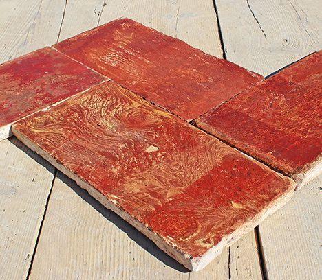 thumb3|Autentico pavimento in cotto variegato lombardo