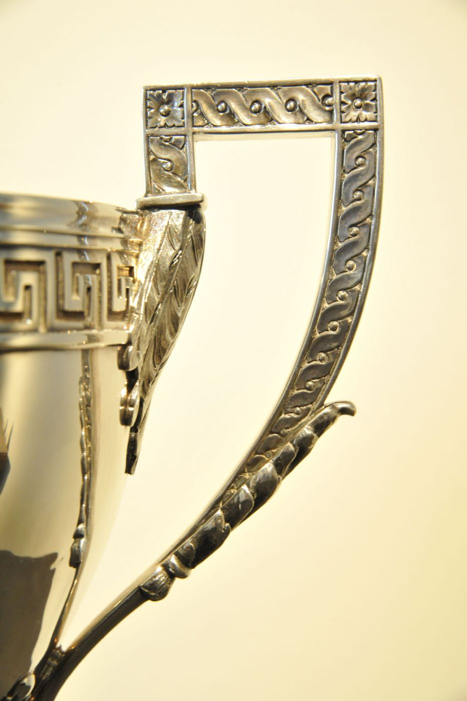 thumb2 Trofeo in argento inciso e datato 1884