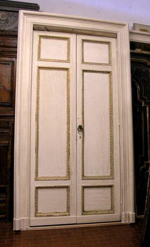 Beautiful porte a due ante contemporary - Porte laccate avorio ...