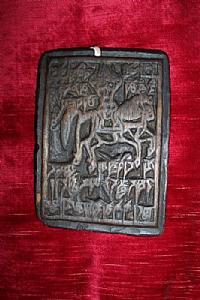 Тибетского деревянные матрицы
