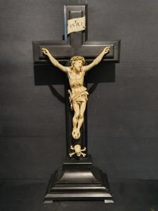 Christ on ivory cross