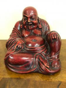 Buddha in ceramica Cacciapuoti.