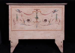 Pair of lacquered headboards, Tuscany, 18th century