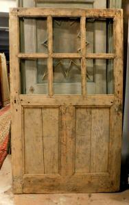 pte131 - стеклянная дверь из тополя, '7 /' 800, см l 112 xh 187