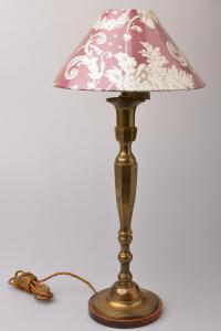 Coppia lampade americane in ottone