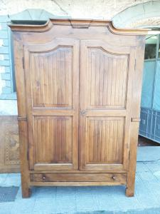 Piedmontese walnut wardrobe end 1700 l140xh max210 minimum 202 p45 to the cap 150x49 warranty terms of the law