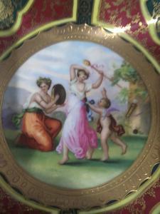 Vassoio porcellana Austria