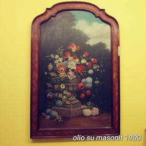 在masonite的油画