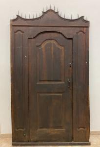 Puerta con puerta interior