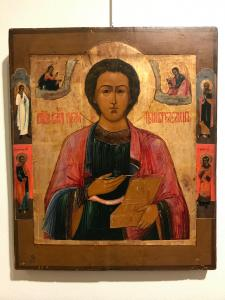 "Icon depicting ""San Pantaleone"" - lot 4"