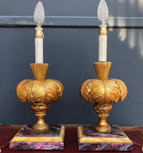 lámpara-candelabros