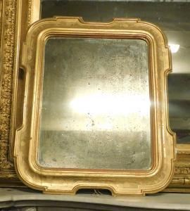 specc175镀金的Umbertine镜子,错了。厘米l 75 xh 90