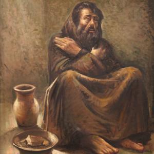 Italienisches Porträt Gemälde öl auf Leinwand