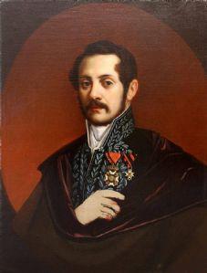 Selbstporträt in der offiziellen Uniform von Natale Carta