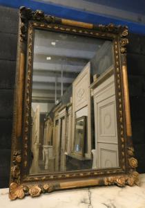 specc227 - лакированное и позолоченное зеркало, см l 86 xh 120