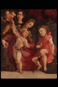 Giovanni Maria Pichi da San Sepolcro, Madonna con bambino e San Giovannino