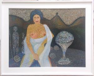 Painting by Furio SANTINI (called SANFURIO)