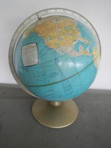 50's world map