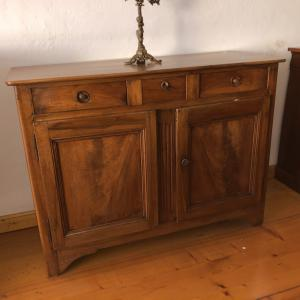 sideboard with two doors