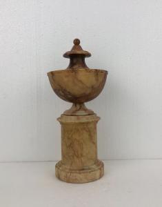 Neoclassical vase in breccia