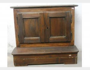 Caja de rodillas de madera art.443