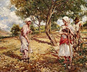 Pablo Salinas, Farmers at work in Anticoli Corrado