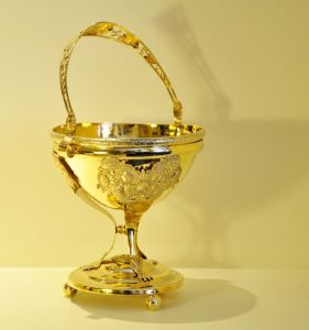 silver-gilt cup