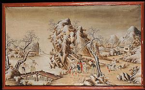 PAIR OF CHINESE PANELS