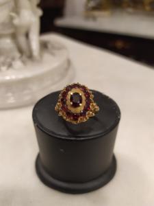 14 Karat Gelbgold-Ring - 40/50 Jahre