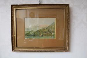 """Pintura """"Lago de Como"""""""